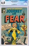 Golden Age (1938-1955):Horror, Journey Into Fear #5 (Superior Comics, 1952) CGC FN 6.0 Off-white pages....