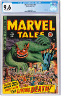 Golden Age (1938-1955):Horror, Marvel Tales #95 (Marvel, 1950) CGC NM+ 9.6 Off-white pages....