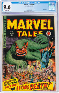 Marvel Tales #95 (Marvel, 1950) CGC NM+ 9.6 Off-white pages