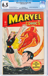 Marvel Mystery Comics #82 (Timely, 1947) CGC FN+ 6.5 Off-white pages