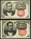 Fractional Currency:Fifth Issue, Fr. 1265 10¢ Fifth Issue Very Fine-Extremely Fine;. Fr. 1266 10¢ Fifth Issue Very Fine.. ... (Total: 2 notes)