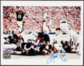 Autographs:Photos, Walter Payton Signed Photograph....