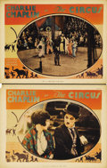 "Movie Posters:Comedy, The Circus (United Artists, 1928). Lobby Cards (2) (11"" X 14"").Charlie Chaplin both directed and starred in this comedy gem...(Total: 2 Item)"