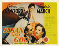 "Movie Posters:Comedy, Susan and God (MGM, 1940). Title Lobby Card (11"" X 14""). This George Cukor directed drama stars Joan Crawford as a wealthy s..."