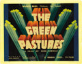 """Movie Posters:Black Films, The Green Pastures (Warner Brothers, 1936). Title Lobby Card (11"""" X14""""). This film started its life as a series of rather p..."""