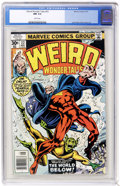 Bronze Age (1970-1979):Horror, Weird Wonder Tales #22 (Marvel, 1977) CGC NM 9.4 White pages. JackKirby and Dick Ayers art. Overstreet 2005 NM- 9.2 value =...