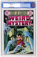 Bronze Age (1970-1979):Horror, Weird Mystery Tales #1 (DC, 1972) CGC NM+ 9.6 White pages. ...