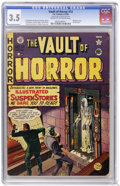 Golden Age (1938-1955):Horror, Vault of Horror #13 (EC, 1950) CGC VG- 3.5 Cream to off-whitepages. ...
