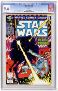 Modern Age (1980-Present):Science Fiction, Star Wars #45 (Marvel, 1981) CGC NM+ 9.6 White pages. ...