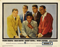 "Movie Posters:Crime, Ocean's 11 (Warner Brothers, 1960). Lobby Card (11"" X 14""). Herethey are, the kings of cool, the infamous Rat Pack, in this..."