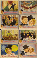 """Movie Posters:Musical, You're a Sweetheart (Universal, 1937). Lobby Card Set of 8 (11"""" X 14""""). Great Alice Faye musical. The title card shows some ... (Total: 8 Item)"""