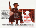 "Movie Posters:Western, A Fistful of Dollars (United Artists, 1967). Half Sheet (22"" X 28""). Sergio Leone created a new genre, the ""Spaghetti Wester..."