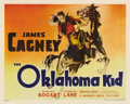 "Movie Posters:Western, The Oklahoma Kid (Warner Brothers, 1939). Half Sheet (22"" X 28"")Style B. Humphrey Bogart and James Cagney portray a couple ..."