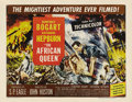 "Movie Posters:Adventure, The African Queen (United Artists, 1952). Half Sheet (22"" X 28"")Style B. Humphrey Bogart won an Oscar as Best Actor for his..."