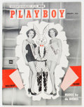 Magazines:Miscellaneous, Playboy #2 (HMH Publishing, 1954) Condition: FN+....
