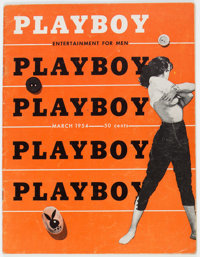Playboy #4 (HMH Publishing, 1954) Condition: VG/FN