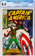 Silver Age (1956-1969):Superhero, Captain America #117 (Marvel, 1969) CGC VF 8.0 Off-white to white pages....