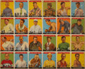 Baseball Cards:Lots, 1933 Goudey Sport Kings Uncut Sheet of Cards One through Twenty-Four with Ruth, Cobb, Thorpe....