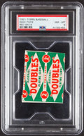 Baseball Cards:Unopened Packs/Display Boxes, 1951 Topps Red Back Baseball 1-Cent Unopened Pack PSA NM-MT 8....