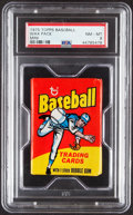 Baseball Cards:Unopened Packs/Display Boxes, 1975 Topps Mini Wax Pack PSA NM-MT 8. ...