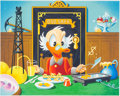Carl Barks Breakfast of Tycoons Limited Edition Signed AP #10/15 Serigraph (Carl Barks Studio, 1996)
