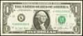 Blumenthal Courtesy Autograph Fr. 1909-K $1 1977 Federal Reserve Note. Choice About Uncirculated