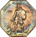 1925 Medal Norse, Thin Planchet, MS64 NGC. The scarcer Thin Planchet variety of the 1925 silver Norse medal, of which on...