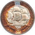 1936 50C Long Island MS66 PCGS. CAC. An attractive example, beautifully preserved with deep original tab toning from the...