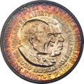 1952 50C Washington-Carver MS67 PCGS. The Washington-Carver type is extraordinarily difficult to find with good eye appe...