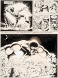 Original Comic Art:Panel Pages, Wally Wood The Wizard King #nn Story Page 10 Original Art (Wallace Wood, 1978)....