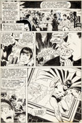 Original Comic Art:Panel Pages, Ric Estrada, Wally Wood, and A. L. Sirois All-Star Comics #58 Story Page 9 Original Art (DC,...