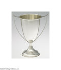 Silver Holloware, American:Loving Cup, AN AMERICAN SILVER TWO-HANDLED LOVING CUPMaker unknown, c....