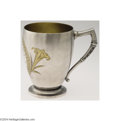 Silver & Vertu:Hollowware, Whiting: AN AMERICAN AESTHETIC MOVEMENT PARCEL GILT CUP (Mark of Whiting, Providence, Rhode Island) . Mark of Whiting, Provi...