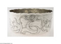 Silver & Vertu:Hollowware, Dominick & Haff: AN AMERICAN SILVER HANDWROUGHT AESTHETIC STYLE BOWL (Mark of Dominick & Haff, New York) . Mark of Dominick ...