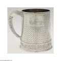 Silver Holloware, American:Cups, Tiffany & Co.: AN AMERICAN SILVER CHINOISERIE DECORATED CUP(...