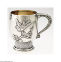 Silver Holloware, American:Cups, Tiffany & Co.: AN AMERICAN SILVER JAPANESE STYLE CUP (Mark ...