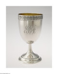 Silver Holloware, American:Water Goblet, Gorham: AN AMERICAN SILVER PRESENTATION GOBLET (Mark of ...
