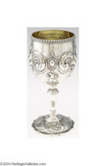 Silver Holloware, American:Wine Goblet, Tiffany & Co.: AN AMERICAN COIN SILVER CHALICE (Mark of ...