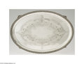 Silver Holloware, American:Trays, E.A. Tyler: AN AMERICAN SOUTHERN COIN SILVER TRAY (Mark of E....
