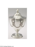Silver Holloware, American:Bowls, Shiebler: AN AMERICAN SILVER NAPOLEON PATTERN COVERED SUGAR ...