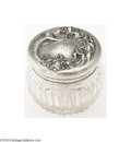 Silver Smalls:Other , Unger Bros: AN AMERICAN SILVER ART NOUVEAU CUT GLASS DRESSER ...