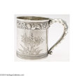 Silver Holloware, American:Cups, Gorham: AN AMERICAN SILVER AESTHETIC MOVEMENT CUP (Mark of ...