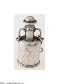 Silver Smalls:Other , Tiffany & Co.: AN AMERICAN SILVER GREEK REVIVAL SCENT BOTTLE...