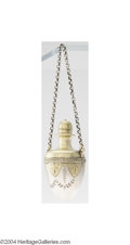 Silver Smalls:Other , Gorham: AN AMERICAN COIN SILVER GREEK REVIVAL SCENT BOTTLE (...