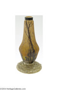 Art Glass:Daum, Daum Nancy: AN OVERLAID AND ETCHED GLASS VASE (Daum Nancy)