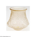Art Glass:Daum, Daum Nancy: AN ART DECO ETCHED GLASS VASE (Daum Nancy)