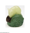 Art Glass:Other , A. Walter: A PATE DE VERRE MOUSE PAPERWEIGHT (A. Walter)