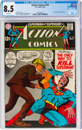 Action Comics #376 (DC, 1969) CGC VF+ 8.5 White pages