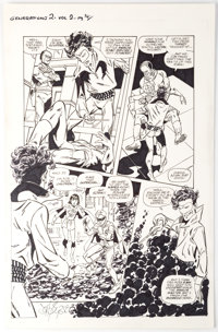 John Byrne Superman & Batman: Generations II #2 Story Page 14 Original Art (DC, 2001)