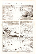 Original Comic Art:Panel Pages, Rich Buckler and Romeo Tanghal Saga of the Original Human Torch #4 Story Page Original Art Group of 2 (Marvel, 199... (Total: 2 Original Art)